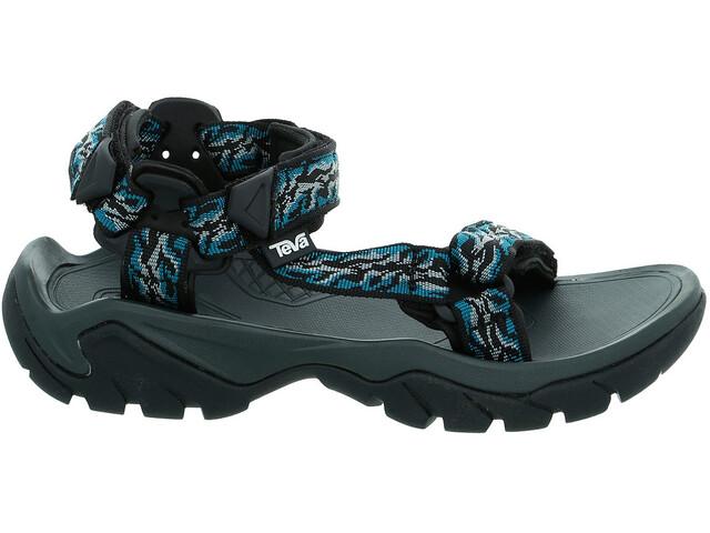 b15588aba75c Teva Terra Fi 5 Universal Sandaler Damer blå sort